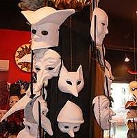 masque de venise à acheter Masques vénitiens Ca' Macana venise