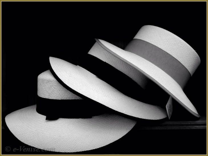Chapeaux Italiens, Lost in Venice, Chapelier à Venise