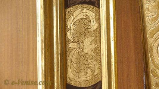 Gennaro Stolfi, cadres dorés à l'or fin à Venise