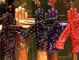 Les gants Fanny à Venise