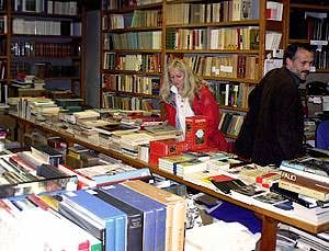 La librairie Bertoni à Venise - Choix et compétence