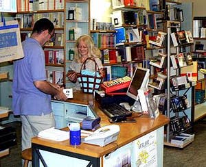 Librairie Toletta à Venise