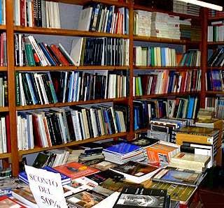 La librairie Bertoni à Venise