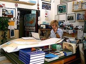Cristina Giussani Librairie éditions Mare di Carta à Venise