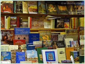 La Librairie des éditions Franco Filippi à Venise