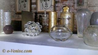 Luigi Benzoni, œuvres d'art en verre de Murano