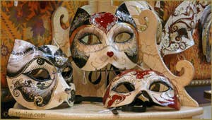 acheter Masque carnaval Venise Schegge