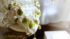 Muriel Balensi, perles de verre de Murano