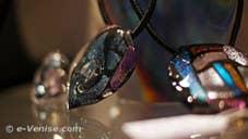 Alessandra Padoan, perles de verre de Murano