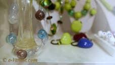 Les Perles de Sunina, perles de verre de Murano à Venise