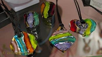 Miriam Padoan, perles de verre de Murano